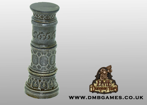 Tall Gothic Pillars: Pack of 2