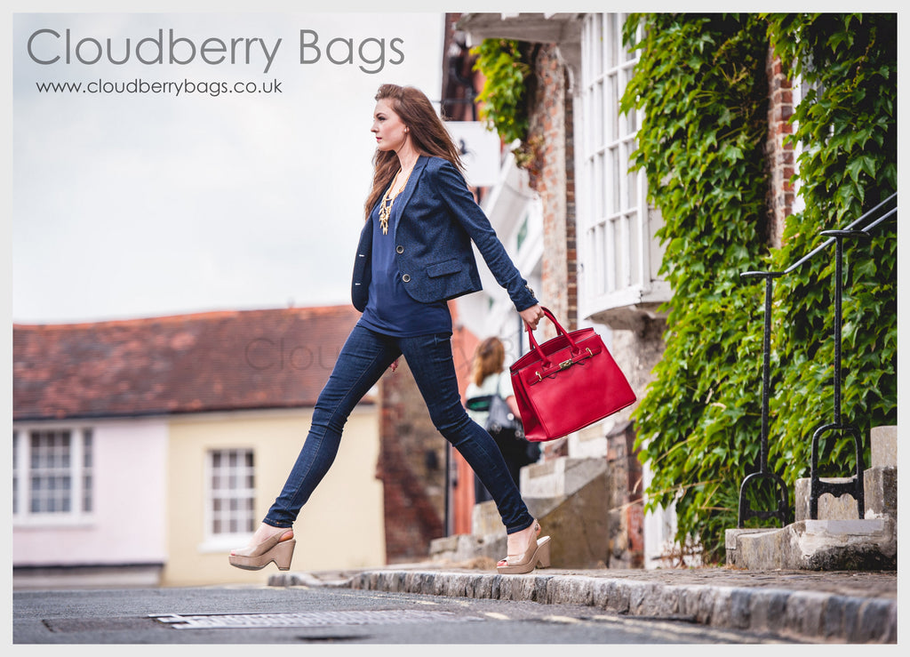 Cloudberry Bags The Knightsbridge Red Handbag