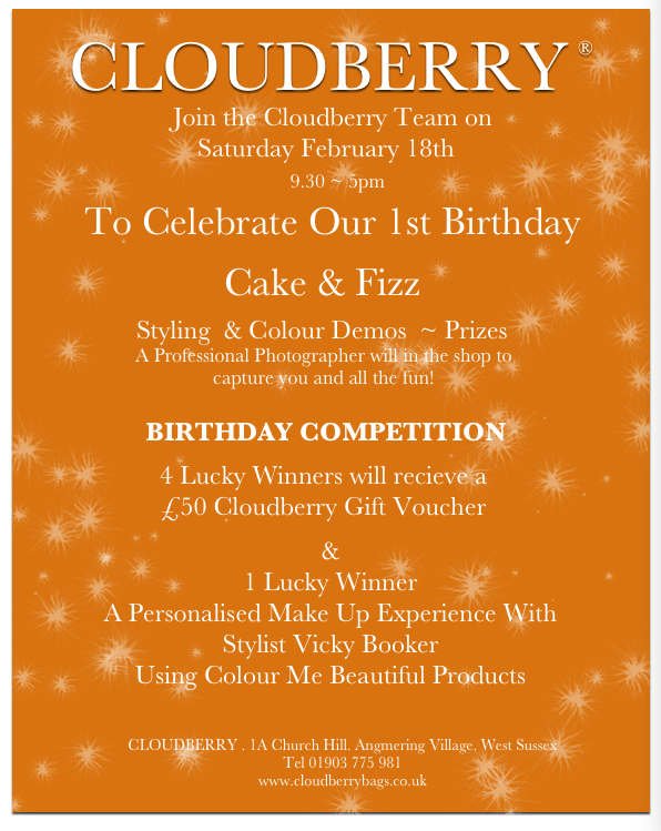 Cloudberry Birthday Celebrations