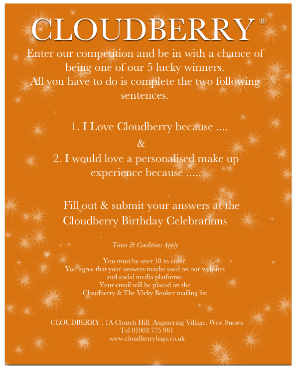 Cloudberry ~ Angmering Birthday Celebrations