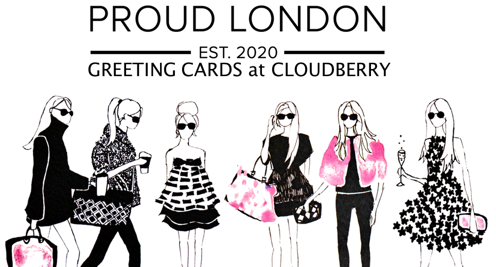 Proud London Cards at Cloudberry