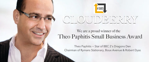 Cloudberry Bags ~ Theo Paphitis Award
