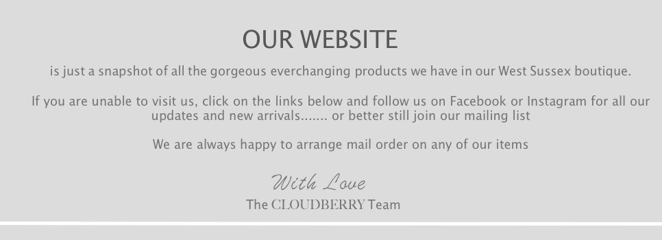 Cloudberry | In the heart of Angmering Village | West Sussex