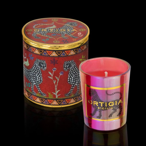 ORTIGIA RED CANDLE