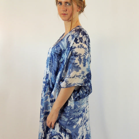 CHINA TREE LONG KIMONO