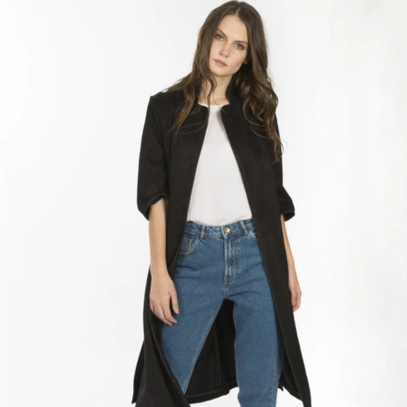 SIDE SPLIT COAT