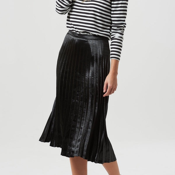 LYNETTE METALLIC SKIRT