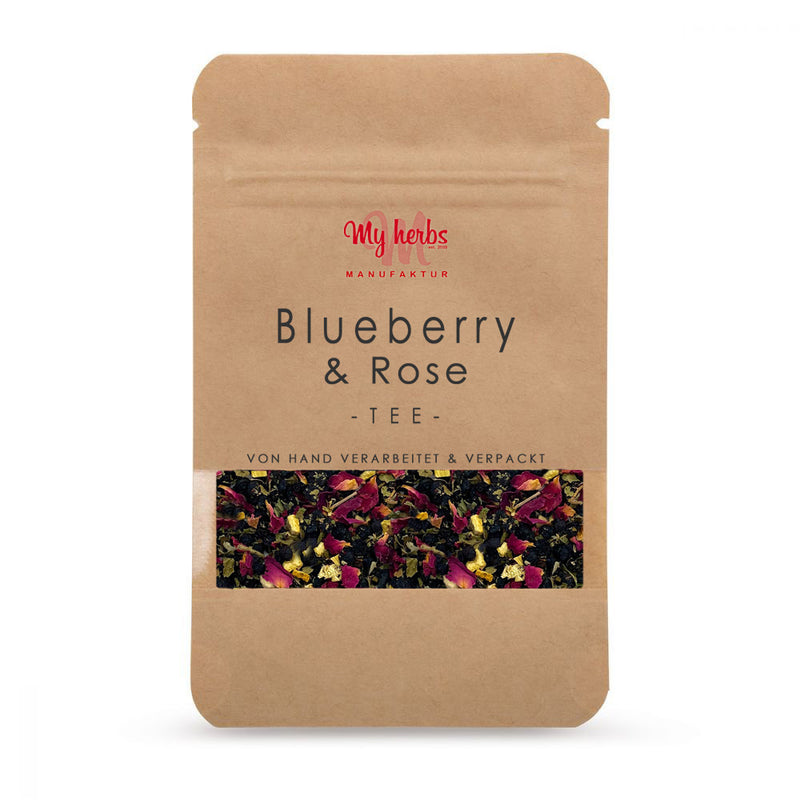 Blueberry & Rose - Verpackung