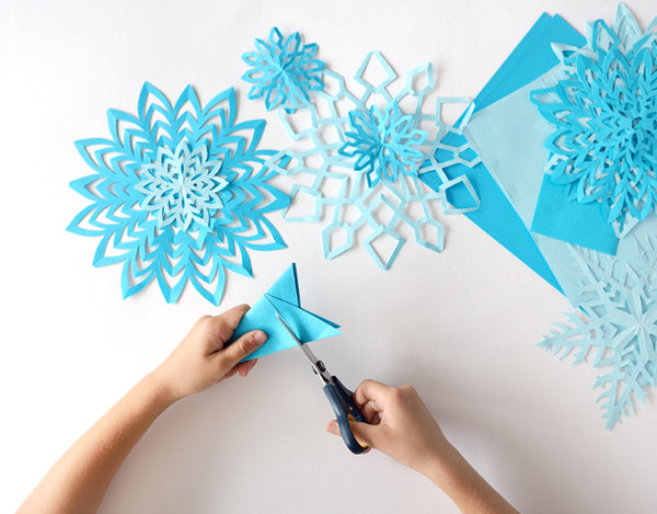 A snowy paper project