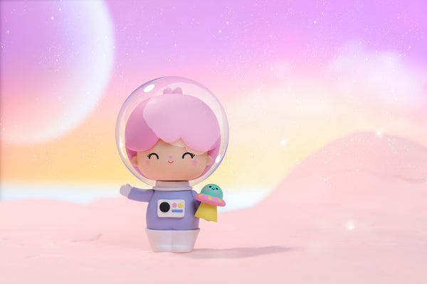 Astronaut Momiji Message Doll in cute space
