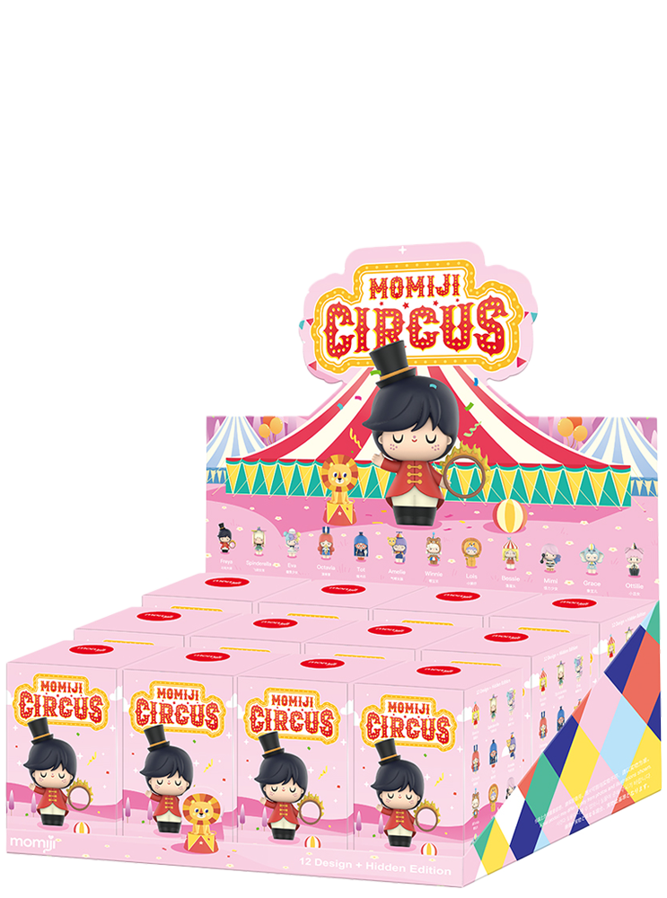 Box of 12 Momiji X Pop Mart Circus