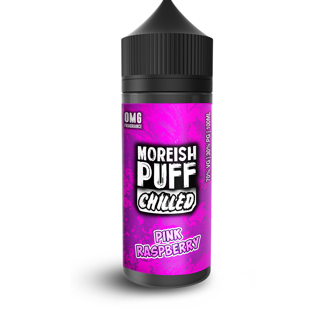 Moreish Puff - Chilled Pink Raspberry