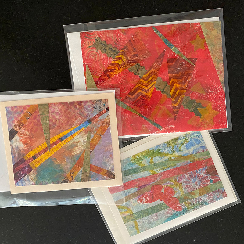 Handmade Card Set of 3 - Group 4