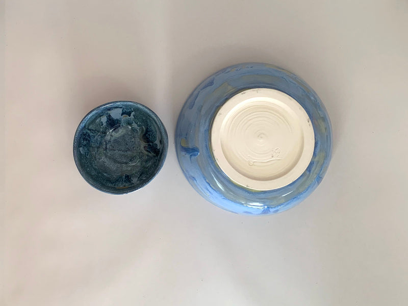 Bowls Blue Set of 2