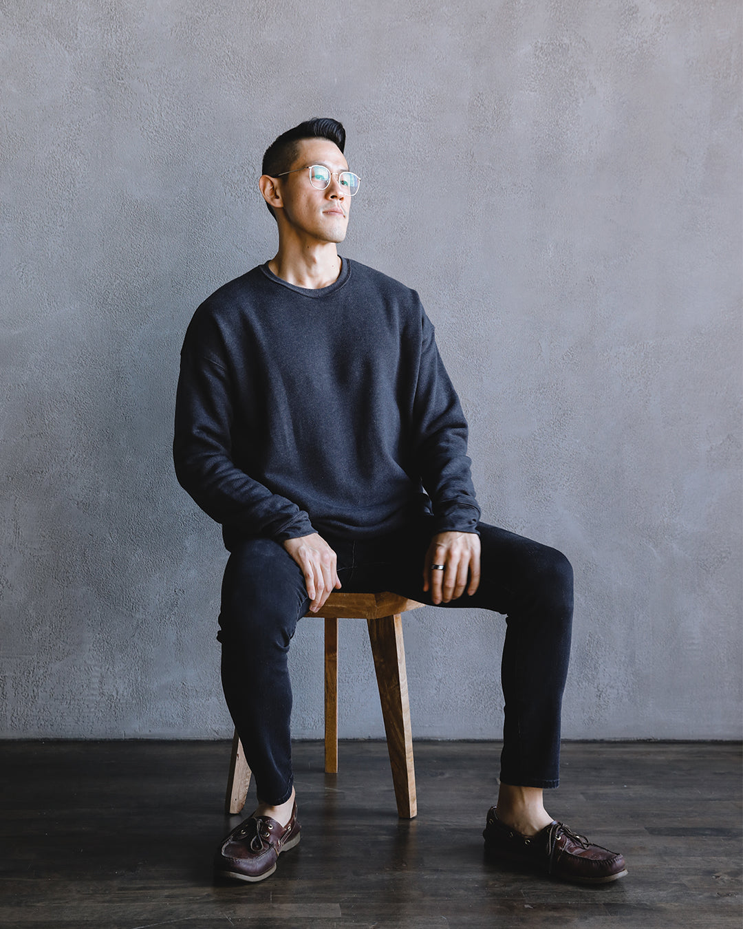 Men's Sweater 001 in Charcoal
