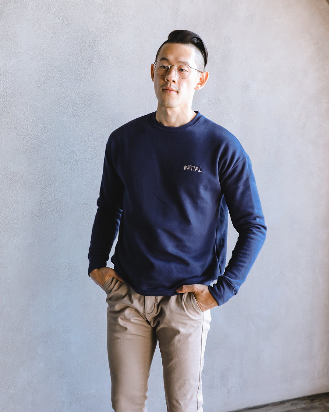 Men's Sweater 001 in Navy