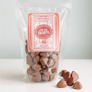 Chocolate Covered Cherry JuJu Hearts