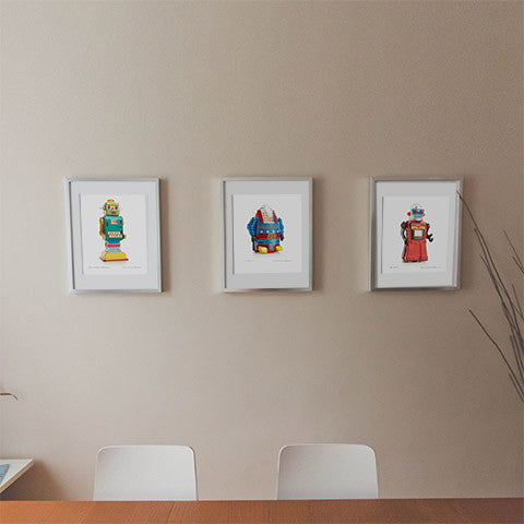 Toy Robot Prints