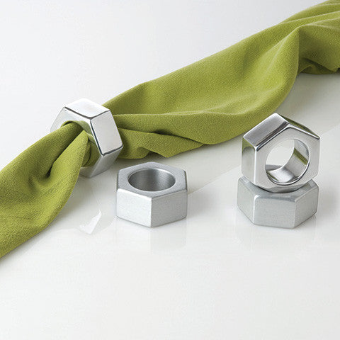 Nut Napkin Ring : Aluminum - museum of robots