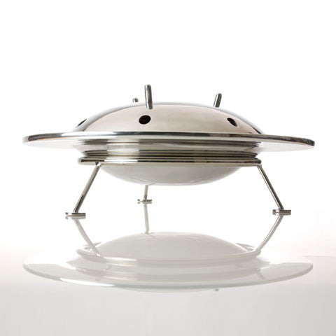 Archive - Flying Saucer Bowl (Aluminum) - museum of robots