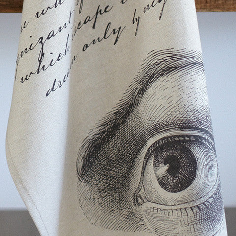 Penny Dreadful Palmist Tea Towel - museum of robots