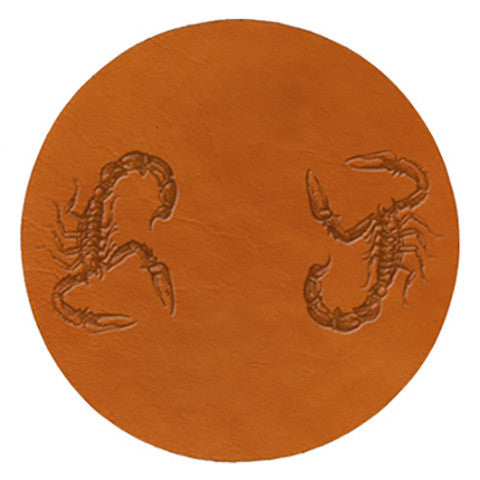 Penny Dreadful Leather Trivet - museum of robots