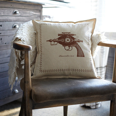 Ray Gun Collection : Pillow Cover - museum of robots