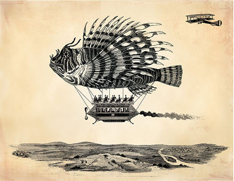 Airship - museum of robots