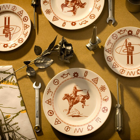 Archive - Cowbot Plates - museum of robots