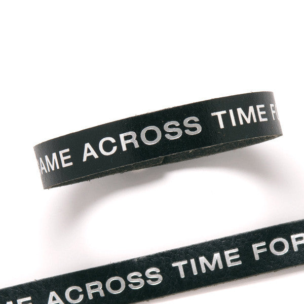 Terminator Dialogue Bracelet Single Wrap: I Came Across Time for You