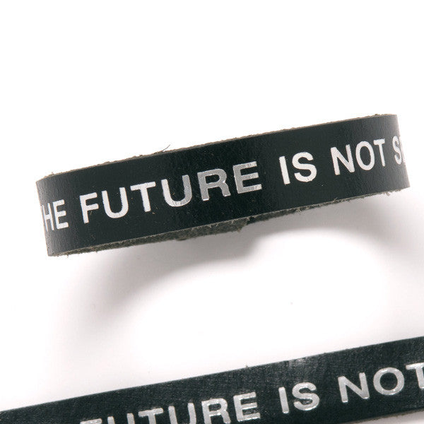 Terminator Dialogue Bracelet Single Wrap: The Future is Not Set