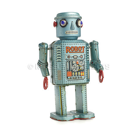 Electric Remote Control Robot (R-35) - museum of robots