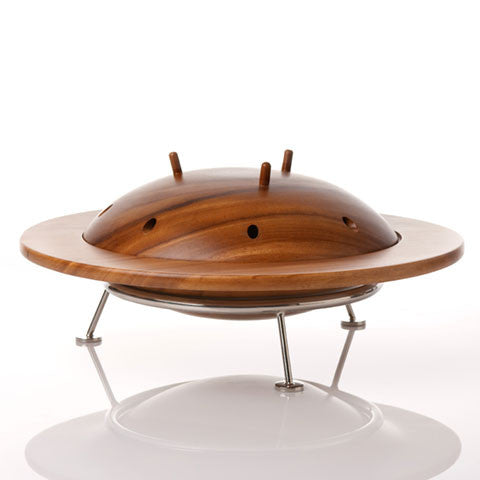 Archive - Flying Saucer Bowl (Wooden) - museum of robots