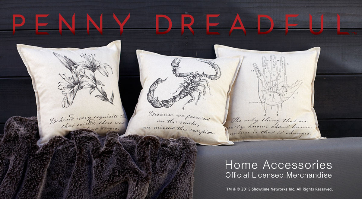 Penny Dreadful Pillows