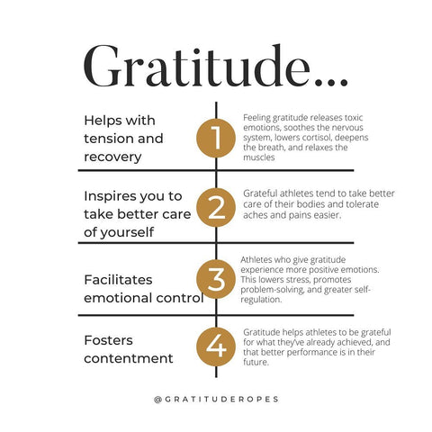 How gratitude improves your fitness