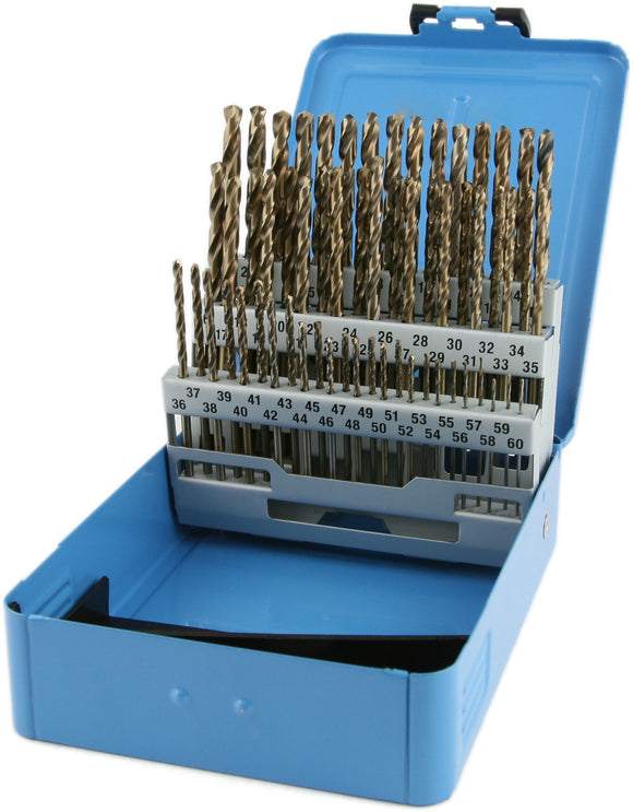 80 Piece Drill Bit Set Wire Gage