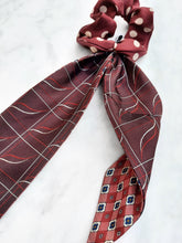 Charger l'image dans la galerie, Chouchou Foulard PATCHY - Red Wine