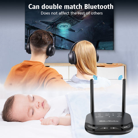 Blueshadow Bluetooth Transmitter Receiver for TV