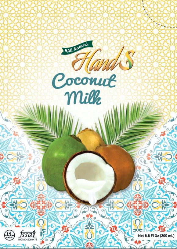 Hands Fresh Coconut Milk 200 gm (wet)
