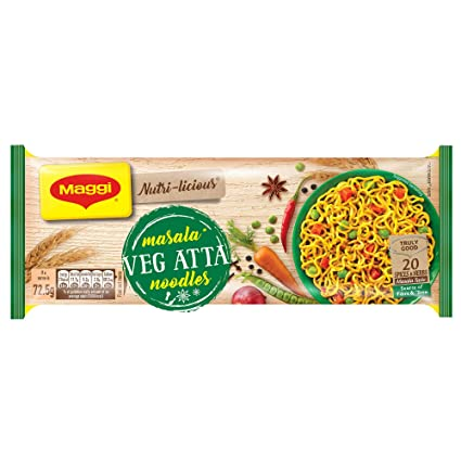 Maggi Veg Atta Noodles 292 Gm (Export Pack)