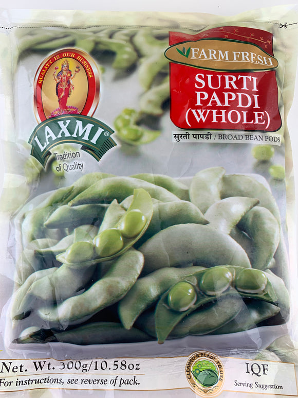 Laxmi Frozen Surti Papdi Whole 300Gm