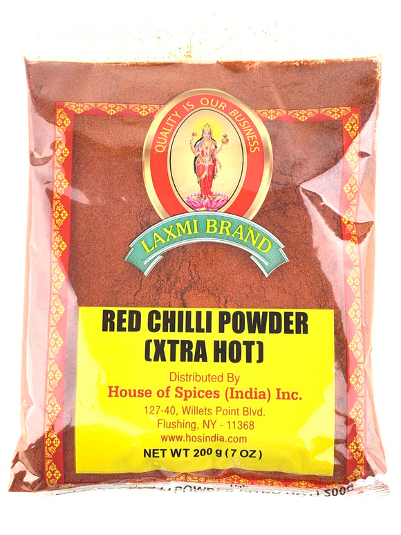 Laxmi Extra Hot Chili Powder 200Gm