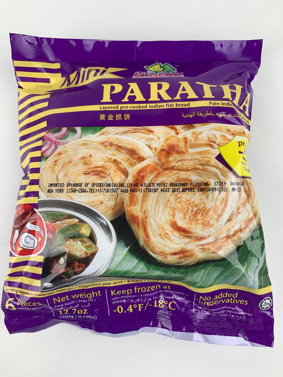Kawan Mini Paratha 6 X60 Gm