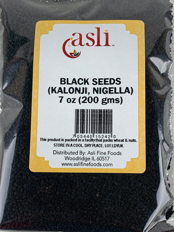 Asli Onion (Kalonji Nigella Black) Seeds 7 Oz