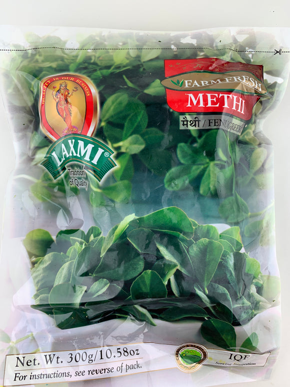 Laxmi Frozen Methi Leaves 300Gm