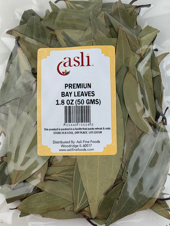 Asli Bay (Tejpatta) Leaves 1.8 Oz (50Gms)
