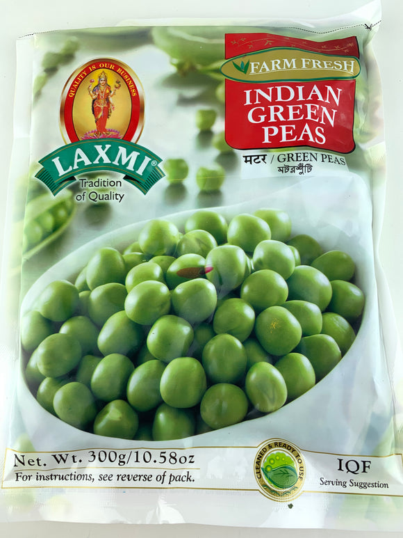 Laxmi Frozen Indian Green Peas 300 Gm