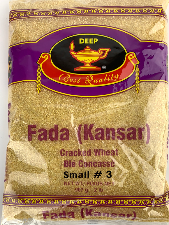 Deep Cracked Wheat  (Kansar) 2lb