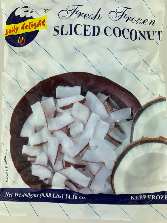 Daily Delight Coconut Sliced 400 Gm