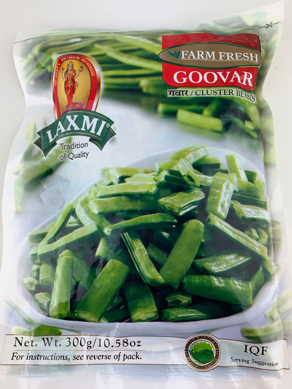 Laxmi Frozen Guvar Cut 300Gm